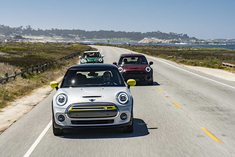 MINI in Pebble Beach: Highspeed und Hochspannung.